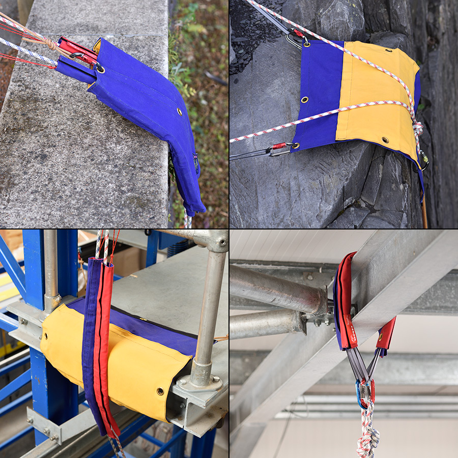 RopePro rope protection in use
